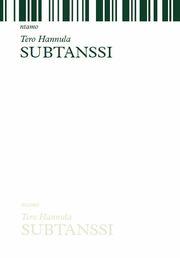 2. Subtanssi, runokirja, ntamo 2010